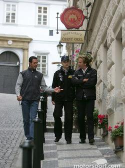 Manuel Reuter, Jarek Janis und Frank Biela