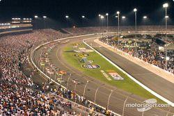 Start of the Busch race