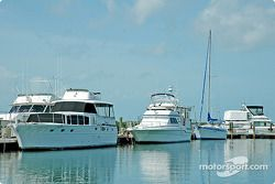 Des bateaux dans la baie de Floride