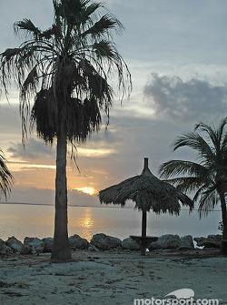 Sunset Florida Bay in Key Largo