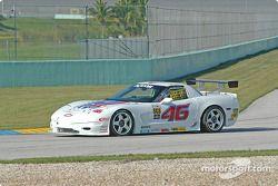 La Corvette n°46 Michael Baughman Racing : Mike Yeakle