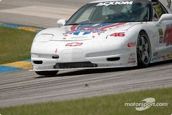 La Corvette n°46 Michael Baughman Racing : Mike Yeakle, Michael Baughman