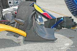 La Porsche Fabcar n°58 Brumos Racing détruite est de retour dans le garage