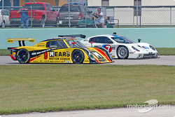 La Pontiac Riley n°9 Mears Motor Coach Speedsource : Paul Mears Jr., Mike Borkowski, et la BMW Fabca
