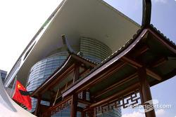 Spectacular architecture, Shanghai International Circuit