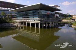 Paddock area at Shanghai International Circuit