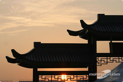 Sunset, Shanghai International Circuit