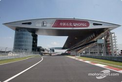 spectacular Shanghai International Circuit architecture