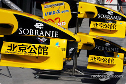 Special livery for China on the Jordan EJ14
