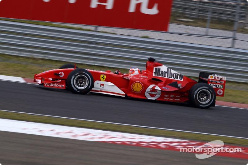 2004. Переможець: Рубенс Баррікелло, Ferrari F2004