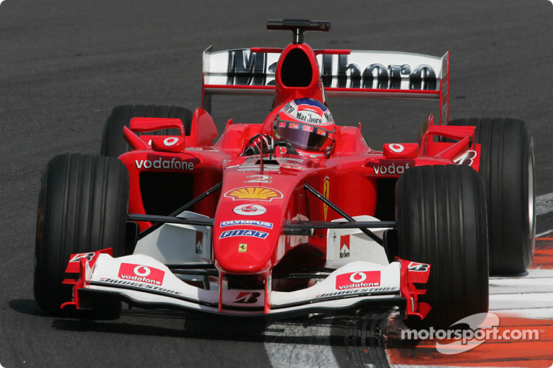 2004: Рубенс Баррикелло, Ferrari F2004