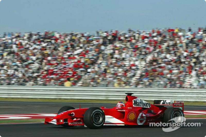 2004: Ferrari, vice-campeão (114 pts)