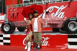 Área de pantalla de Coca-Cola
