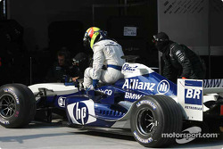 End of the day for Ralf Schumacher