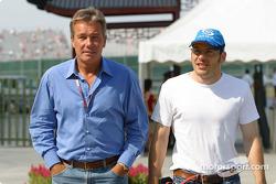 Craig Pollock y Jacques Villeneuve llegan a la pista
