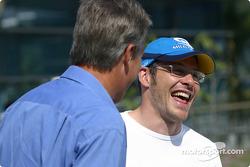 Craig Pollock y Jacques Villeneuve