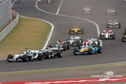 Inicio: Ralf Schumacher por delante de David Coulthard