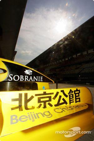 Chinese sponsorship on the Jordan EJ14