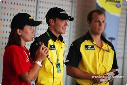 Jordan paddock club : Robert Doornbos