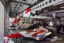 Toyota garajı area