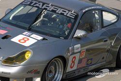 La Porsche 911 GT3 RS n°8 Foxhill Racing : Michael Cawley, Andrew Davis, Charles Espenlaub