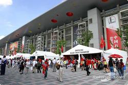 Shanghai International Circuit vendor area