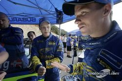 Petter Solberg and Mikko Hirvonen