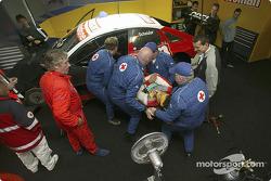 L'équipe de secours du DTM travaille les exercices d'urgence