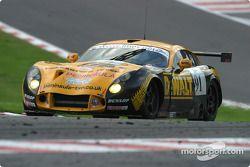 La TVR Tuscan 400R n°91 Race Sports Salisbury : John Hartshorne, Graeme Mundy, Richard Stanton