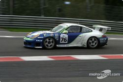 La Porsche 911 GT3 RS n°76 Autorlando Sport : François Labhardt, Jim Michaelian, Mauro Casadei