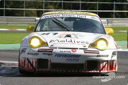 #81 Farnbacher Racing Porsche 911 GT3 RSR: Thorkild Thyrring, Lars-Erik Nielsen, Patrick Long