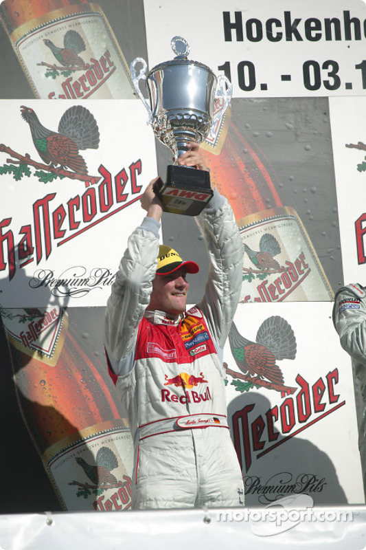 Podium: Martin Tomczyk, Team Abt Sportsline, Audi A4 DTM 2004