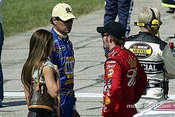 Dale Earnhardt Jr. et Michael Waltrip