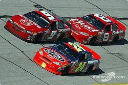 Jeff Gordon, Kasey Kahne et Dale Earnhardt Jr.