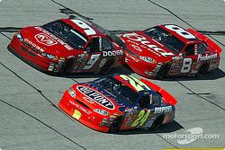 Jeff Gordon, Kasey Kahne and Dale Earnhardt Jr.
