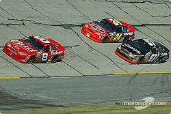 Dale Earnhardt Jr., Jeff Gordon et Kurt Busch