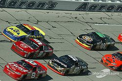 Dale Earnhardt Jr. leads the pack