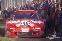DNF para el #68 Racing Associates Porsche 935 K3: Skeeter McKitterick, Charles Mendez, Leon Walger