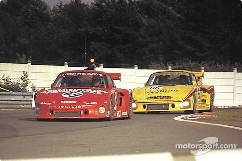 #69 Racing Associates Porsche 935 K3: Bob Akin, Ralph Kent Cooke, Paul Miller, #85 Whittington Broth