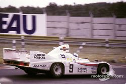 La Porsche 908/80 n°9 Joest Martini Racing : Jacky Ickx, Michel Leclère, Reinhold Joest
