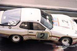 La Porsche 924 Carrera GT Turbo n°2 Porsche System : Andy Rouse, Tony Dron, Eberhard Braun