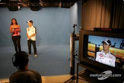 TV appearance for Takuma Sato