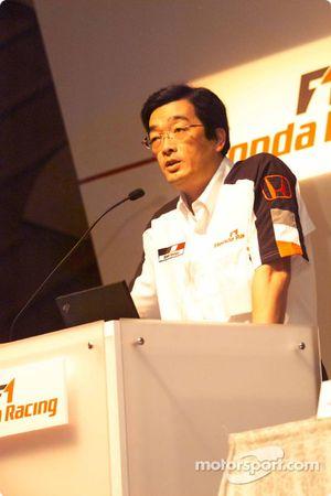 Honda Racing basın toplantısı: Takeo Kiuchi