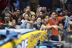 Enthusiatic fans