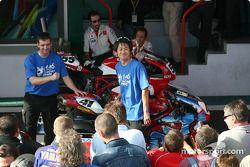 Le staff de Renegade Ducati Koji