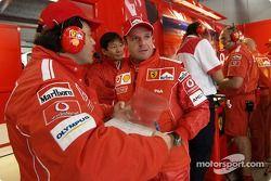 Rubens Barrichello ve Gabrile delli Colli