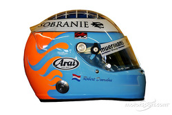 Shoot en studio : le casque de Robert Doornbos