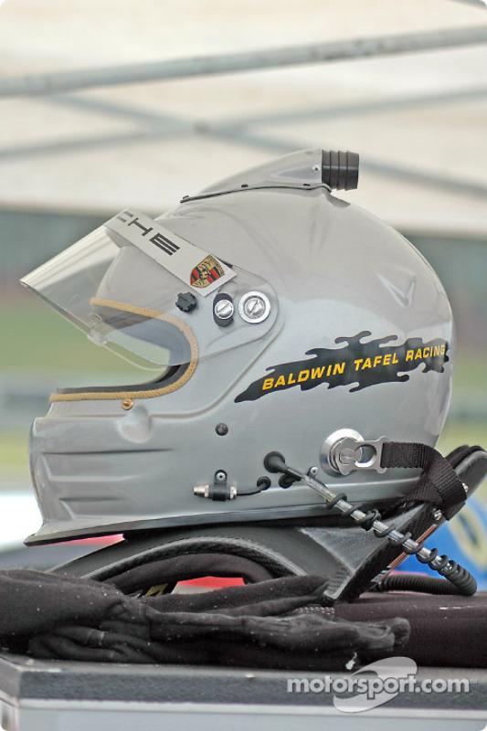 Le casque de Jim Tafel