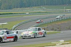 La Porsche GT3 Cup n°37 TPC Racing : John Littlechild, Jean-François Dumoulin