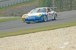 #06 ICY/ SL Motorsports Corvette: Steve Lisa, David Rosenblum, Chuck Hemmingson, #14 Autometrics Motorsports Porsche GT3 Cup: Cory Friedman, Leh Keen